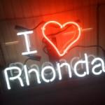 I love Rhonda
