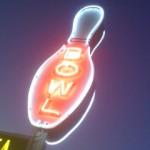 Dickson bowl neon sign