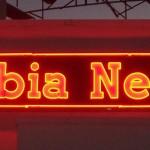 columbia neon's sign