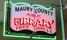 Public Library Neon